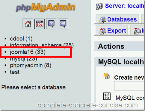 Adding a New User to a MySql database in XAMPP - Complete