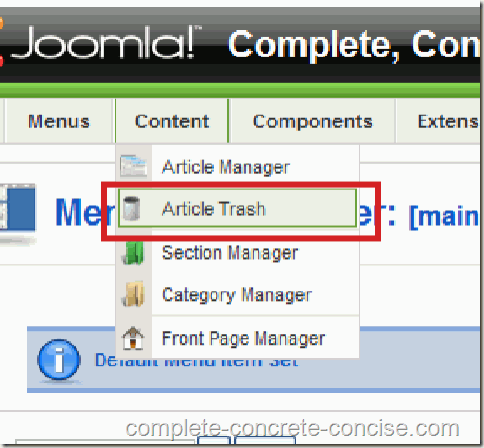 joomla-backend-article-trash-selection-1