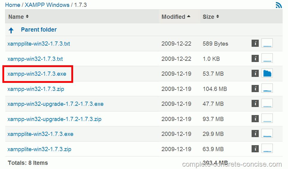 Installing XAMPP - Apache Server, MySql, and PHP - Complete