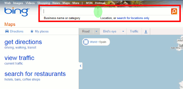 Bing Maps' Stupid Interface Design - Complete, Concrete, Concise on