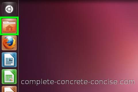 folder in ubuntu 11.10